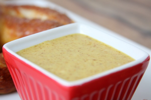 Sweet Mustard Dipping Sauce | Game Day | Recipe